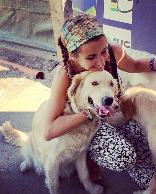 Io e Margot, una bellissima Golden